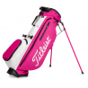 TITLEIST PINK OUT PLAYERS 4+ BAG